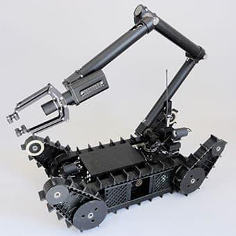 robot per artificieri e nuclei antisabotaggio